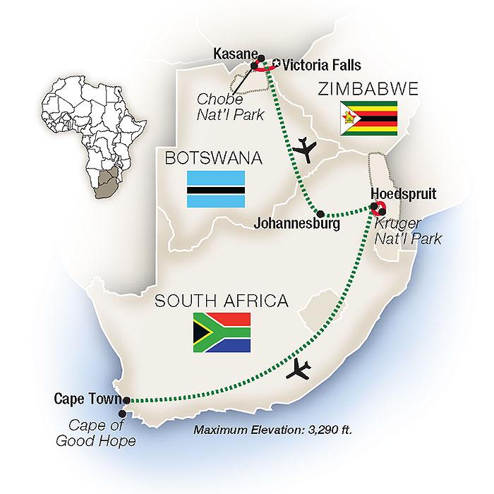 South Africa Safari & Tours