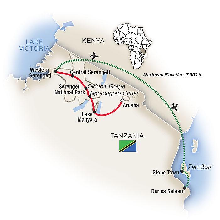 Tanzania Safari & Africa Tour Packages