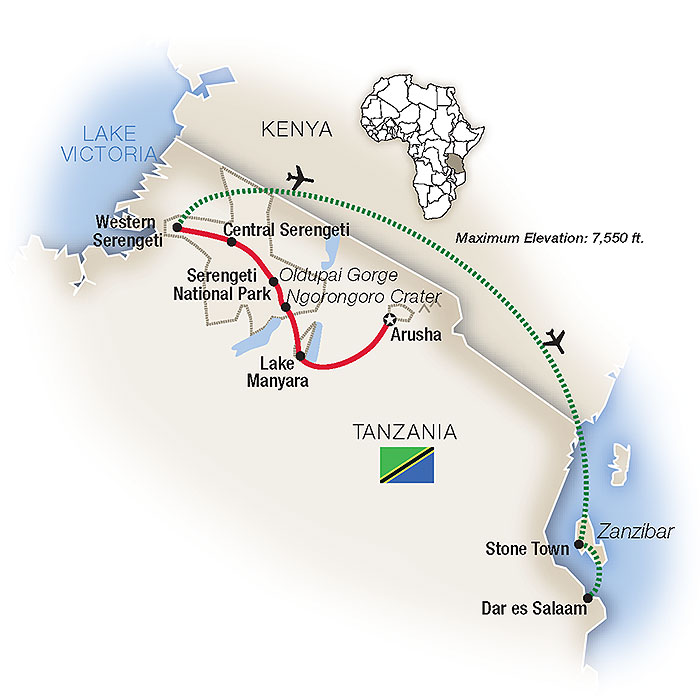 Tanzania Safari & Africa Tour Packages