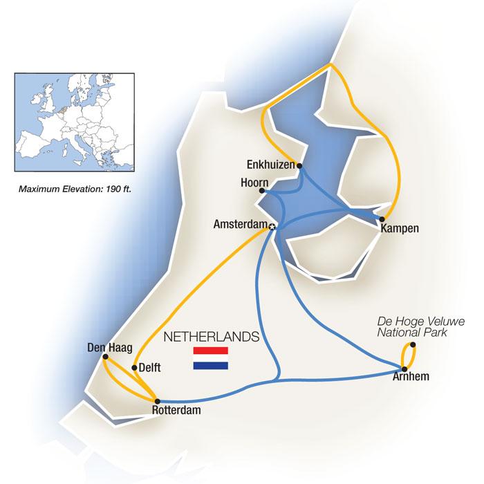 Cruising the Dutch Waterways