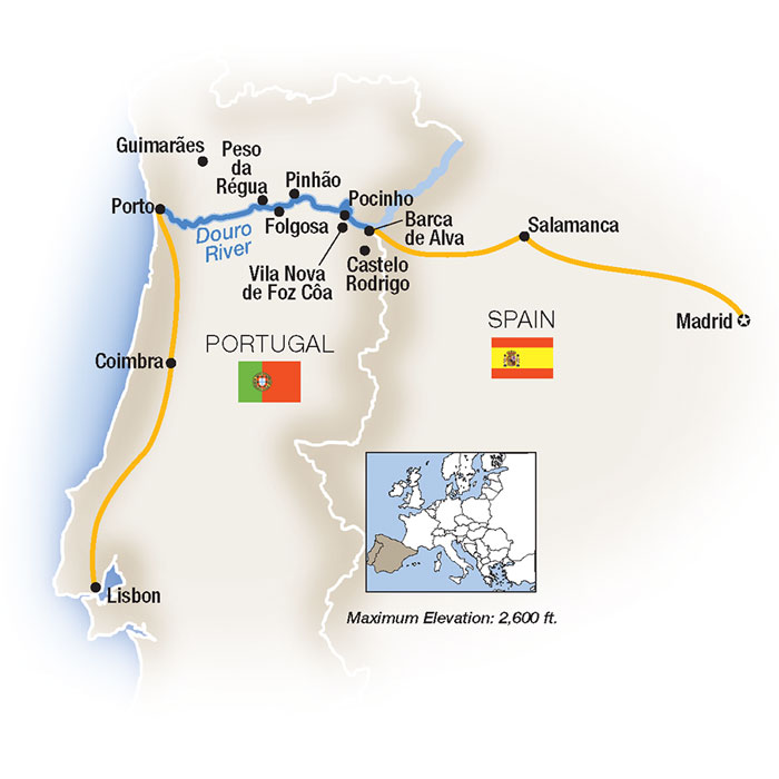 Spain & Portugal Vacation Package