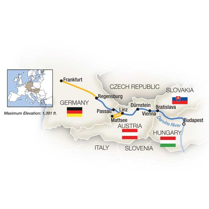 Danube Automotive Heritage: Budapest to Frankfurt