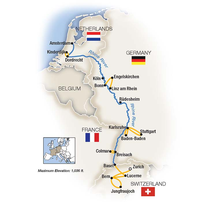 Rhine River Tours