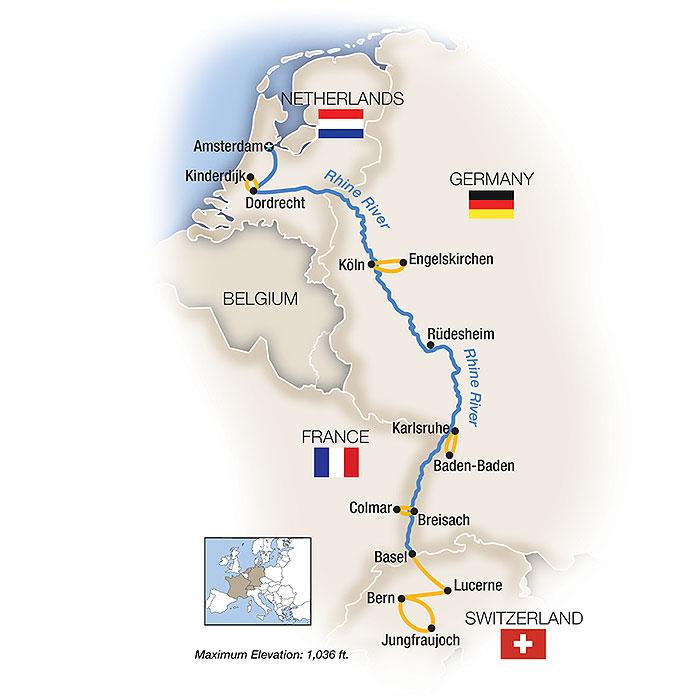 Rhine River Tours