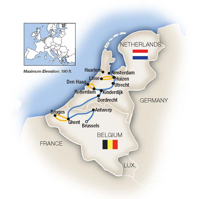 Belgium River Cruise