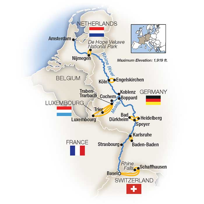 Moselle River Cruise