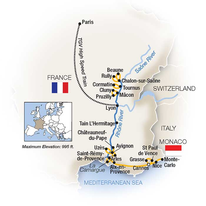 River Cruises In France
