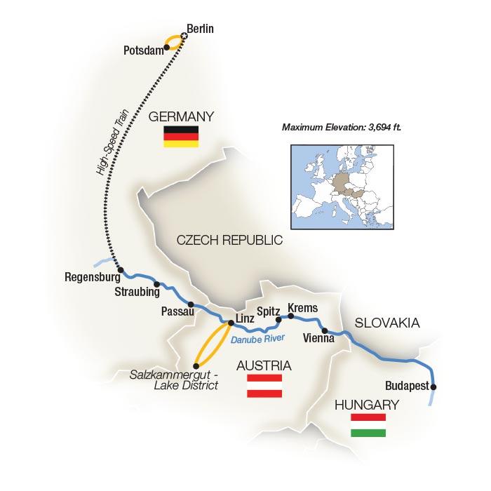 Royal Danube Berlin and Danube