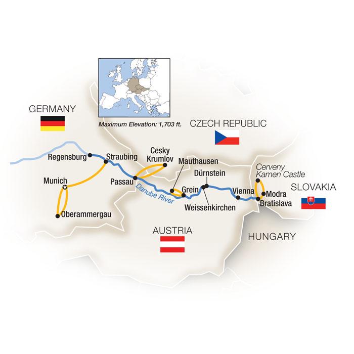 Vienna River Cruise Oberammergau