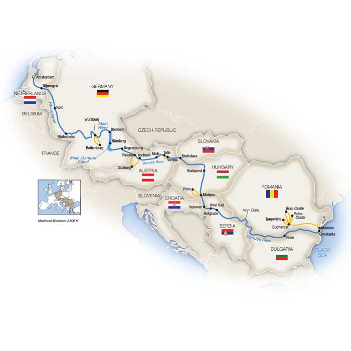 Eastern European River Cruises