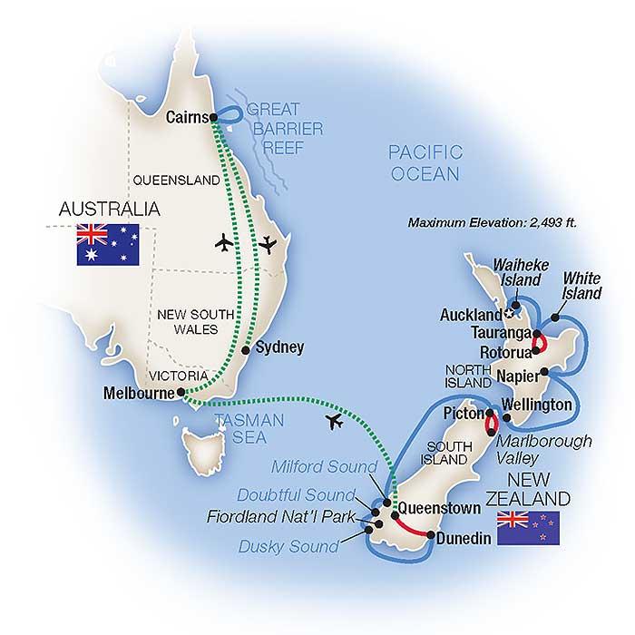 Australia New Zealand Cruise