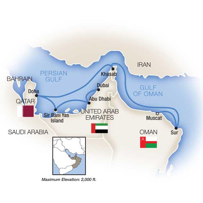 Portrait of Arabia: The Emirates, Qatar & Oman