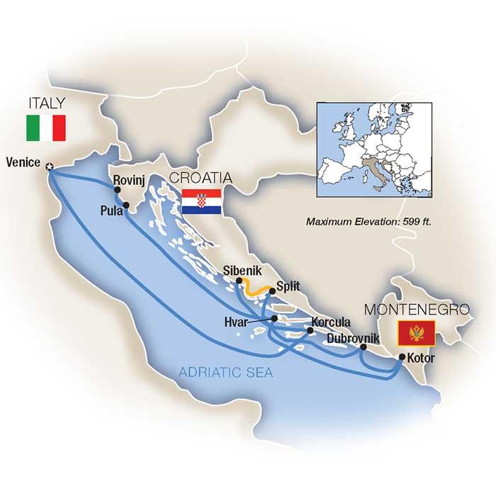 Dalmatian Coast Cruises