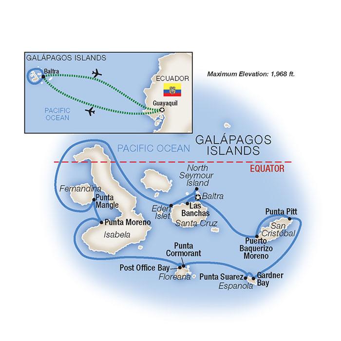 Galapagos Island Cruise