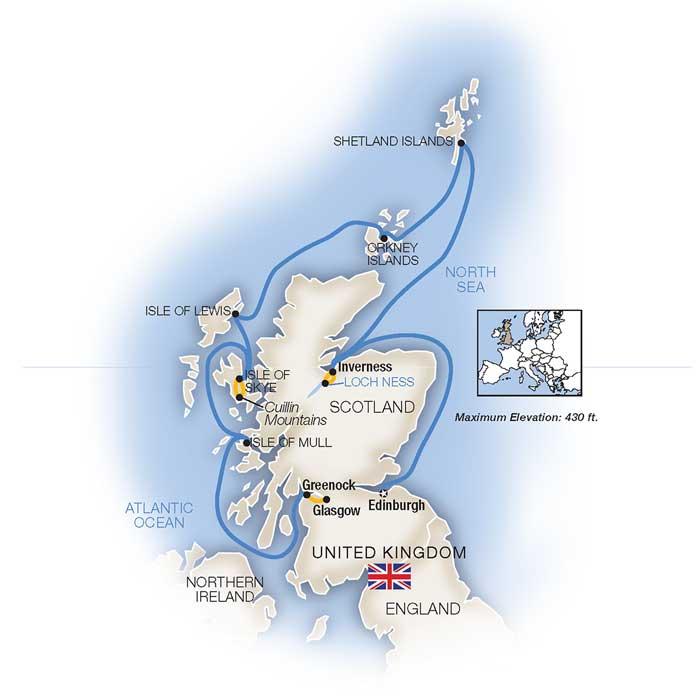 Scotland Cruise