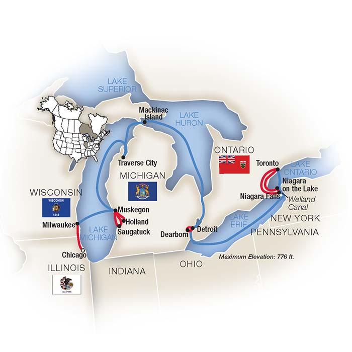 Chicago Toronto Great Lakes Cruise