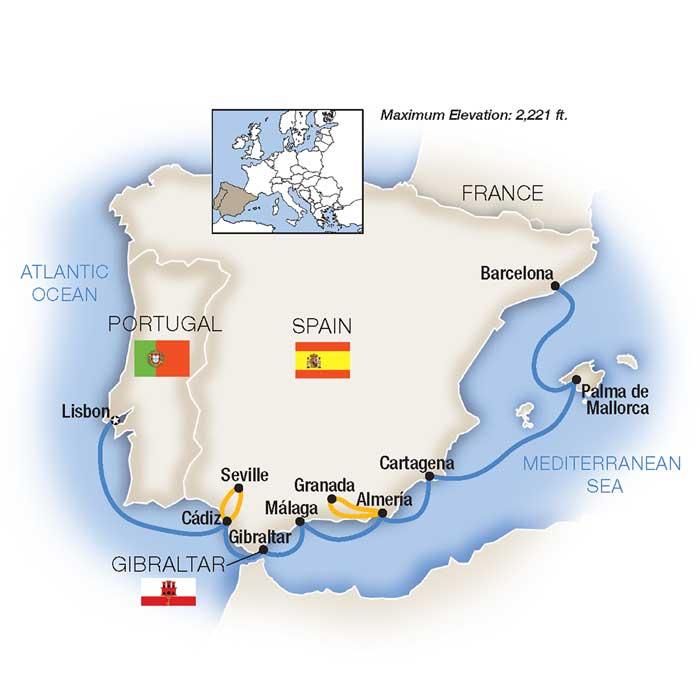 Spain Portugal Cruise