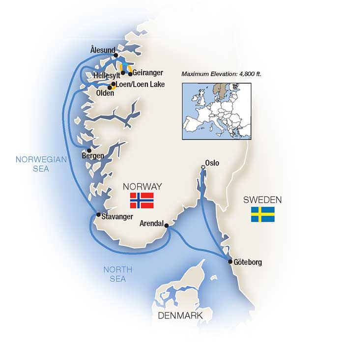 Norwegian Fjords Cruise