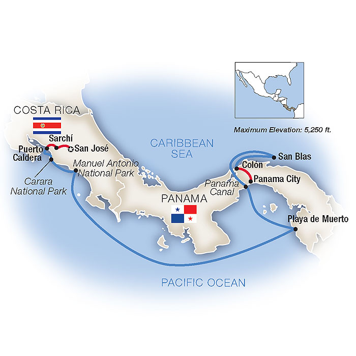 Costa Rica & Panama Cruise