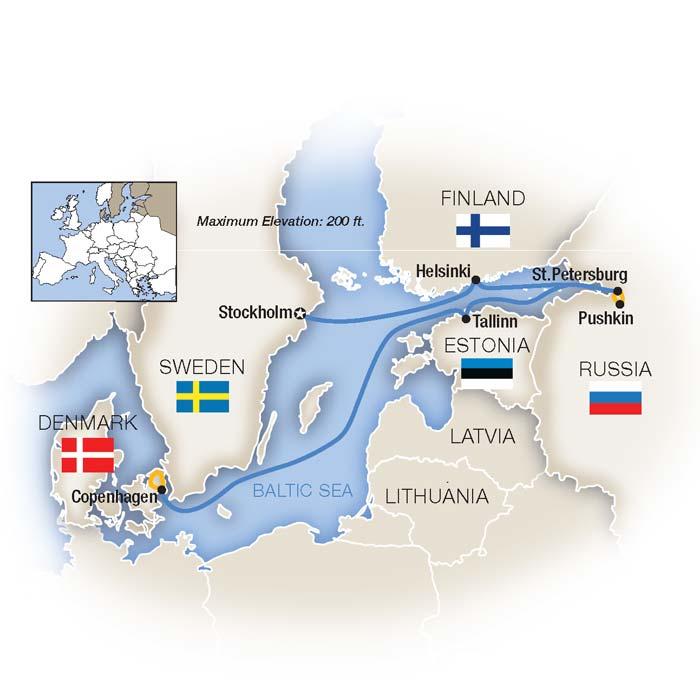 St Petersburg Baltic Sea Cruise