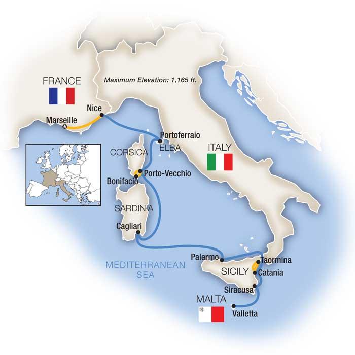 Treasures of the Mediterranean Isles