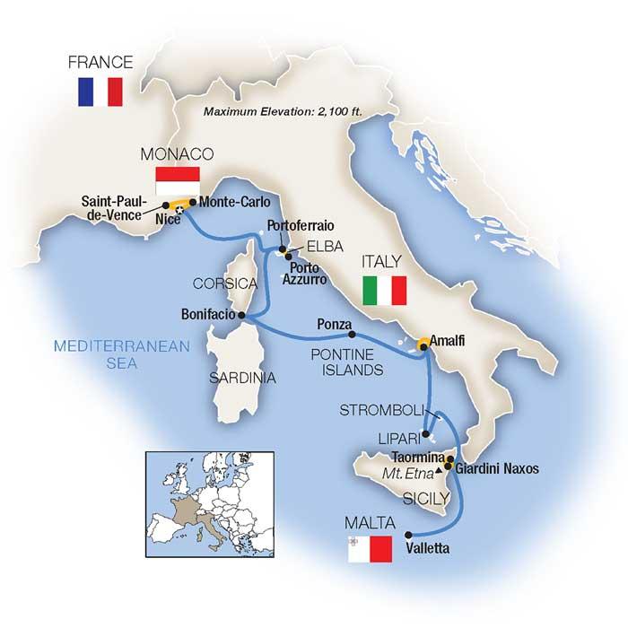 Cruise Around Italy