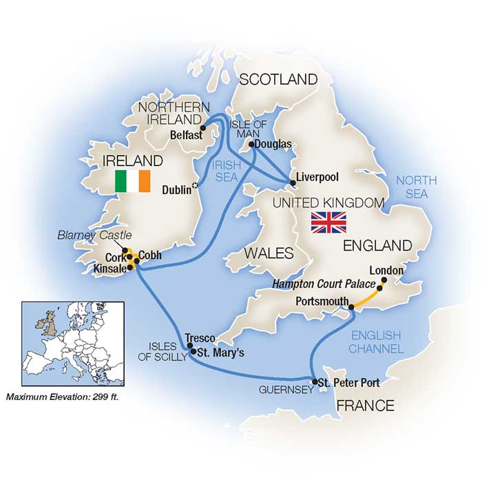 British Isles Cruise