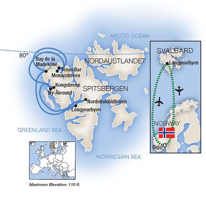 Arctic Allure Spitzbergen Cruise