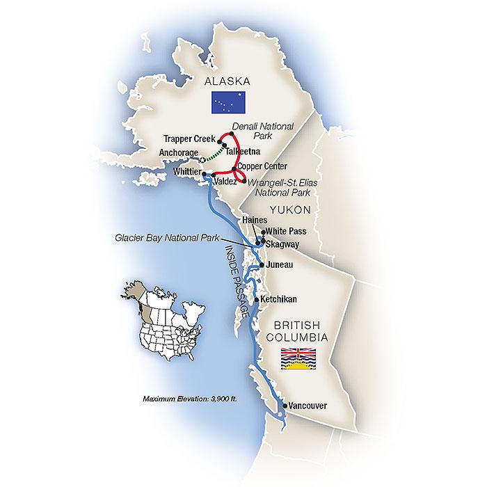 Grand Alaska Map
