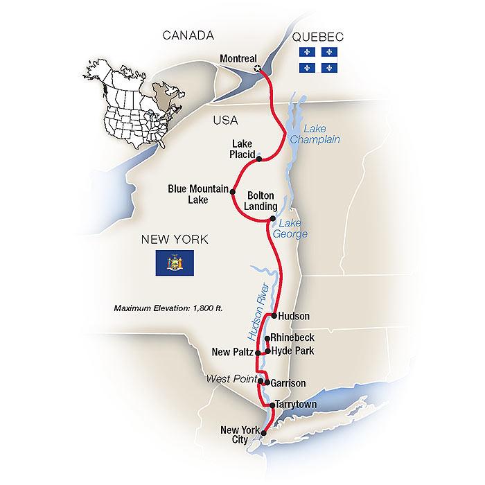 Hudson Valley Tours & Escorted Tours