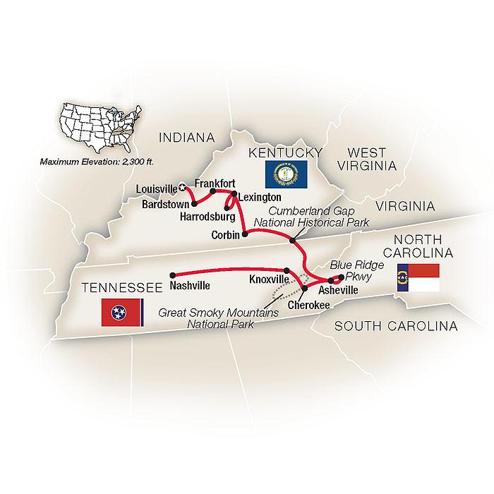 Kentucky Tours & Escorted Tours