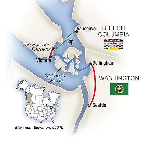 Pacific Northwest Escorted Tours