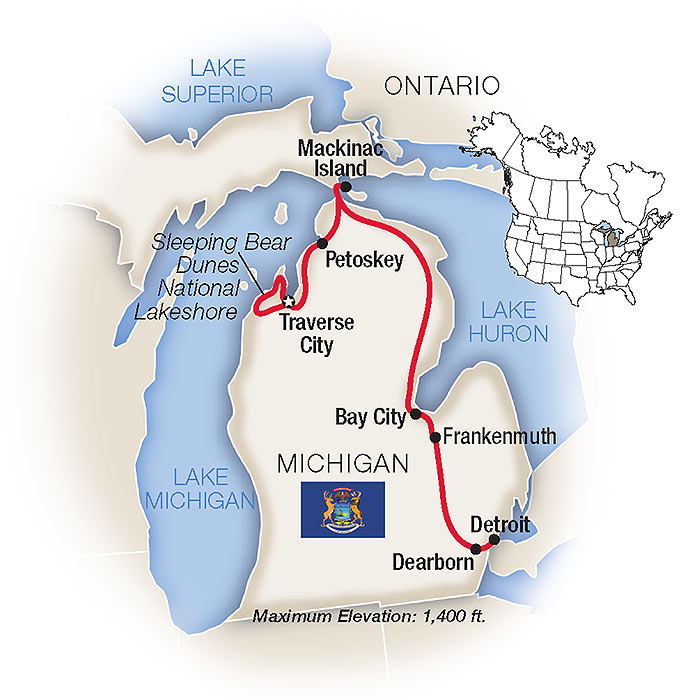 Michigan Tours & Vacation Packages