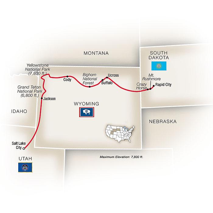 Grand Teton Yellowstone Escorted Tour Package