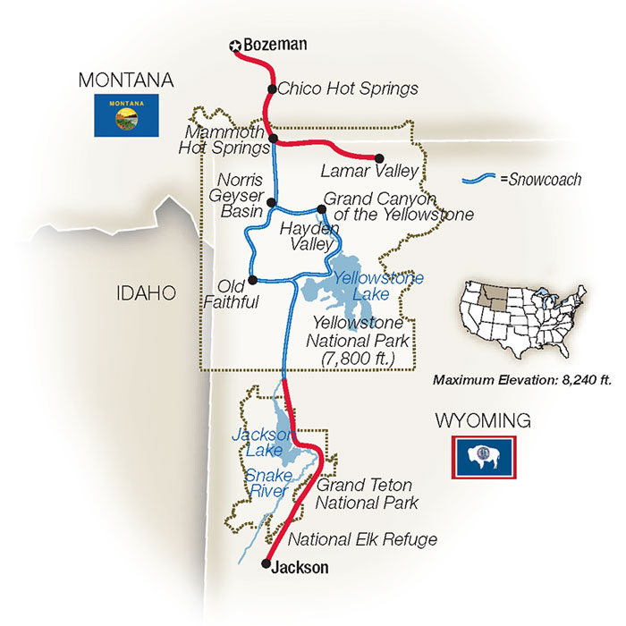 Yellowstone Winter Tours & Tour Packages
