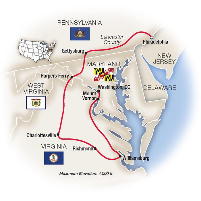 Washington DC Guided Tours & Philadelphia Trips